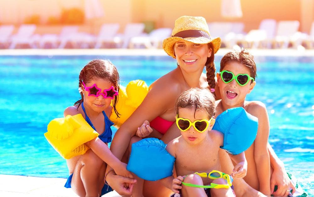 Mom-and-three-kids-enjoying-our-Gatlinburg-condos-with-pools.jpg